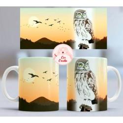 Taza Owl
