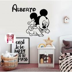 Vinilo bebé Mickey